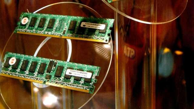 IC Insights下修今年記憶體市場至持平 估明、後年強勁成長 (圖:AFP)