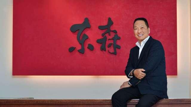 東森集團總裁王令麟。(圖:東森提供)