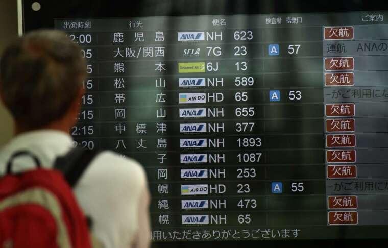 客機航班大減 氣象預報跟著失準? (圖片:AFP)