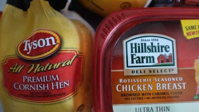 泰森暫關一家工廠消毒 產業過於集中惡化了美國肉品危機? (圖:AFP)