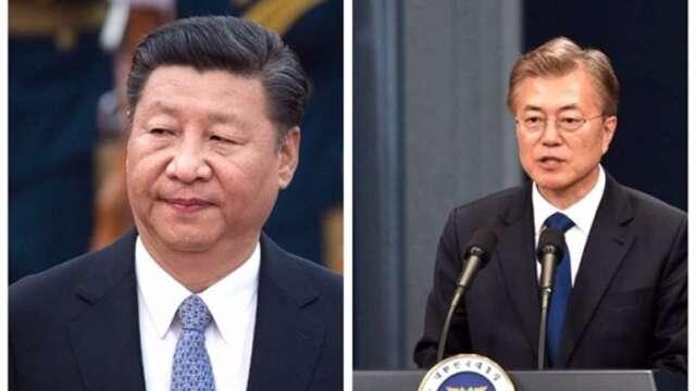 經貿解封第一槍?中韓放鬆邊境管制 建立商務人士「快速通道」(圖片:AFP)