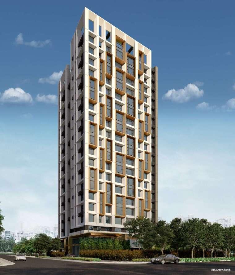 大陸建設導入「琢青」設計團隊 HANDEL 建築師,客戶對國際品味認同度高。