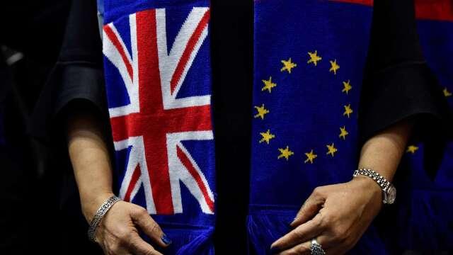 脫歐後談判進展緩速 英國金融業的下一步? (圖:AFP)