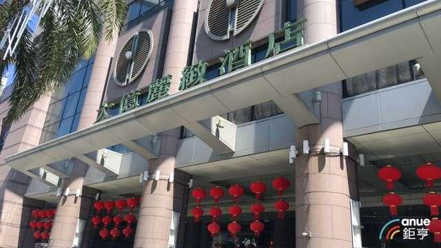 台南知名五星級老牌飯店大億麗緻酒店布6月底將熄燈。(鉅亨網資料照)
