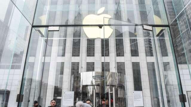 〈財報〉蘋果Q2營收持平、不給財測 iPhone Q3表現恐更差 盤後挫逾2%(圖片:AFP)