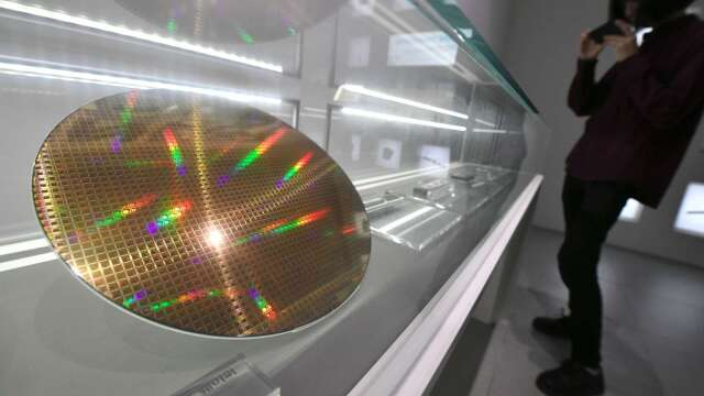 矽晶圓上半年需求回溫。(圖:AFP)