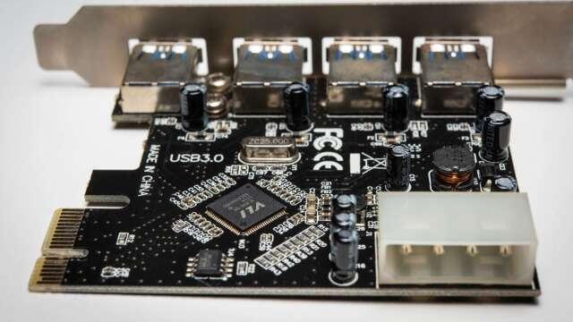 英特爾5月處理器新品上市,助台系板卡廠營運增溫。(圖:AFP)