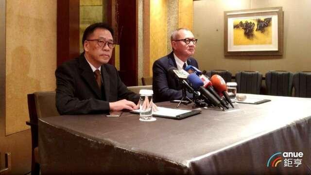 國巨董事長陳泰銘(右)及新任執行長暨總經理王淡如(左)。(鉅亨網資料照)