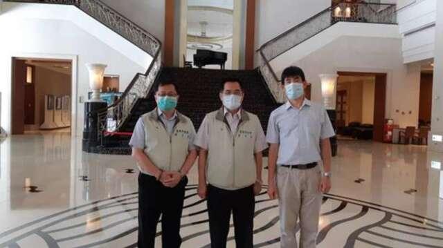 大億麗緻酒店 6 月底結束營運,勞資自治協商會議 4 日舉行。(圖:台南市勞工局提供)