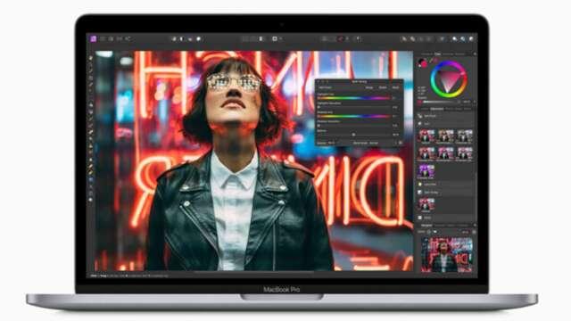 蘋果發布新13吋MacBook Pro (圖:AFP)
