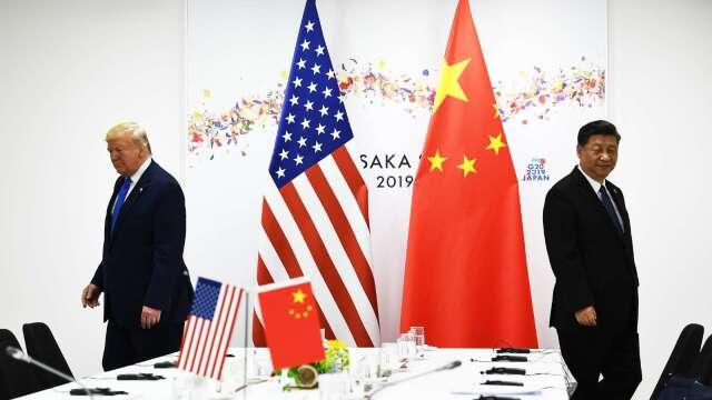 新冠掀完美風暴!川普政府親台反中 加速推供應鏈「去中國化」 (圖片:AFP)
