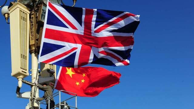 英國:中國需要回應疫情相關問題 (圖片:AFP)
