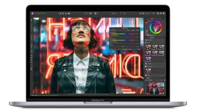 蘋果新款MacBook Pro上市,台廠供應廠可望受惠。(圖:AFP)
