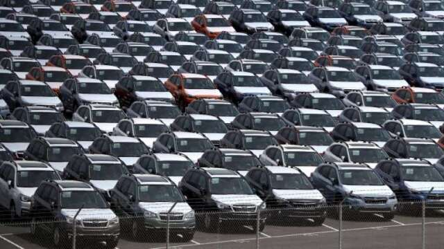 英國4月汽車銷售暴跌97% 創1946年以來最差成績(圖:AFP)