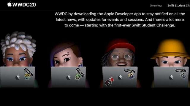6/22揭幕!蘋果首次舉辦虛擬WWDC 所有開發者免費入場 (圖片:蘋果官網)