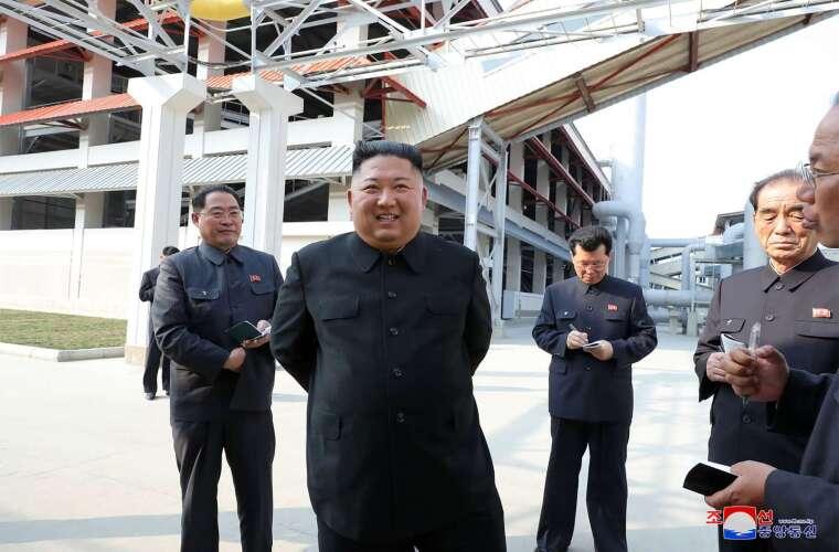 南韓情報機關:金正恩未接受心臟手術 (圖片:AFP)