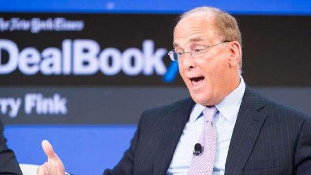 貝萊德警告,美國企業稅明年或許不得不升至29%,以支應各種刺激措施。(圖:AFP)