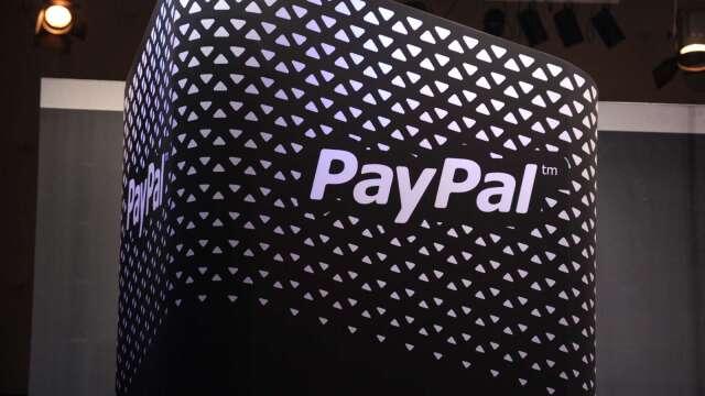 〈財報〉PayPal Q1財報遜於預期 然Q2財測強勁 盤後大漲8%(圖片:AFP)