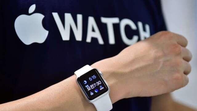 全球智慧手錶Q1出貨量年增20% Apple Watch穩居龍頭  (圖:AFP)
