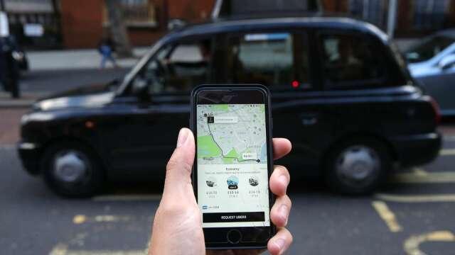 〈財報〉Uber Q1淨虧損29億美元 CEO稱核心業務已好轉激勵盤後漲逾6%(圖片:AFP)