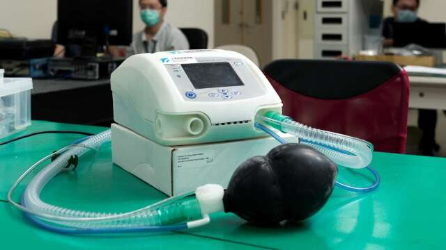 工研院打造國內首個醫療級呼吸器原型機。(圖:工研院提供)