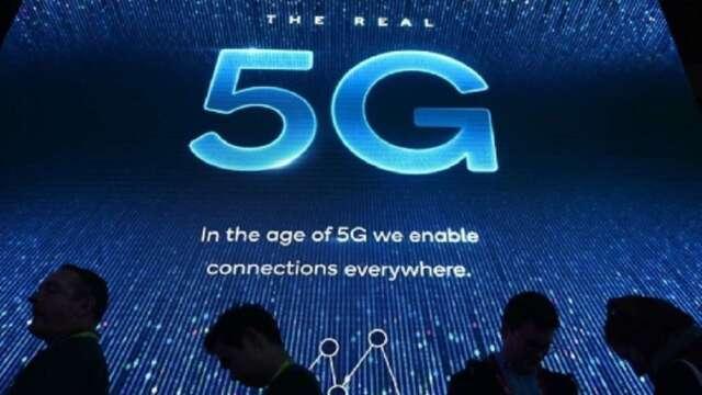 5G 世代正式開啟後,將由硬體關鍵元件領航,為 5G 後續發展打好基底。(圖:AFP)