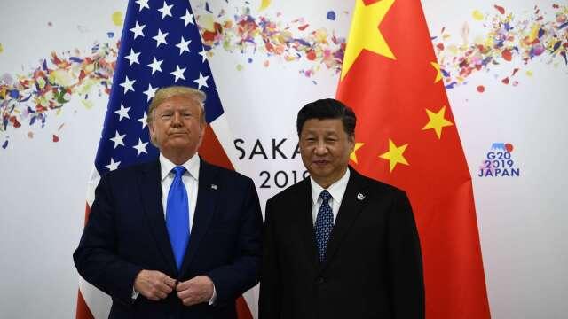 美中熱線破冰?川普:我與中國的關係非常不好。(圖片:AFP)