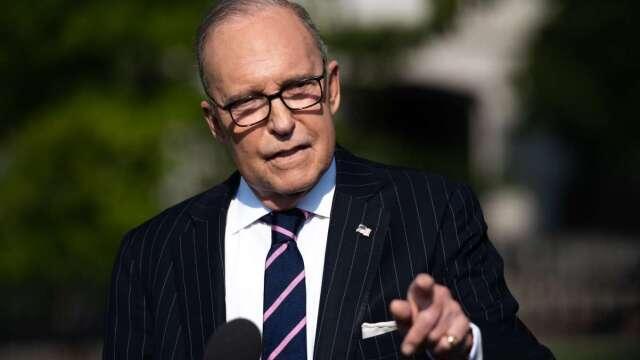 庫德洛說,白宮5月不考慮新一輪刺激方案,要先看重啟經濟效果如何。(圖:AFP)