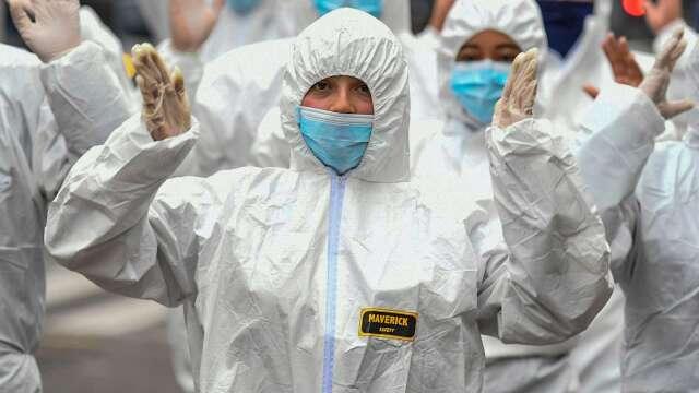 WHO:俄國確診和死亡人數上升 東歐疫情滯後爆發(圖片:AFP)