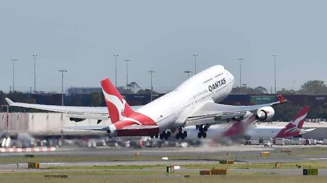 疫情重創航運需求 澳洲航空暫停波音、空巴交機事宜 (圖片:AFP)