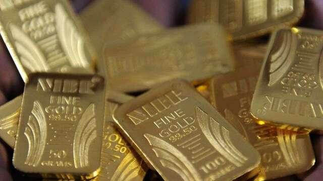 瑞銀預估,金價可望在一年內上看1800美元。(圖:AFP)