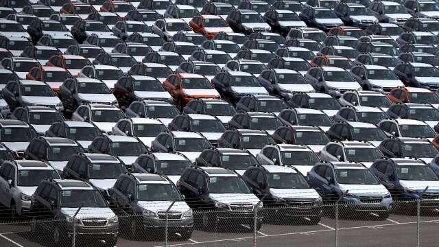 日本4月中上旬出口年減逾22% 汽車業影響大 (圖片:AFP)