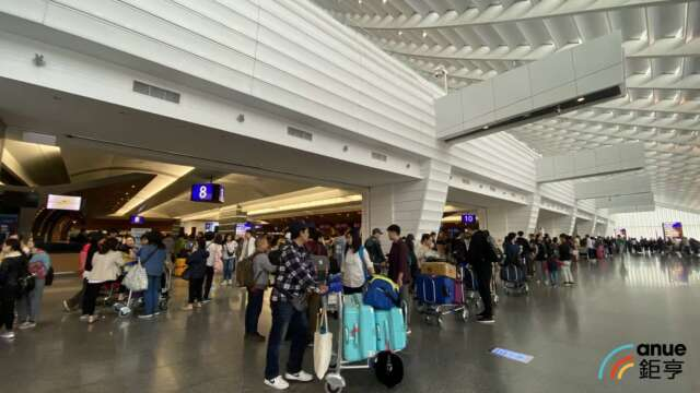 全球百大機場評比 樟宜機場八連霸 桃機退步5名近三年最差。(鉅亨網資料照)