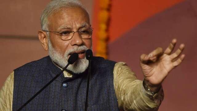 印度總理莫迪宣布20 兆盧比刺激計畫 規模等同10% GDP 。(圖:AFP)