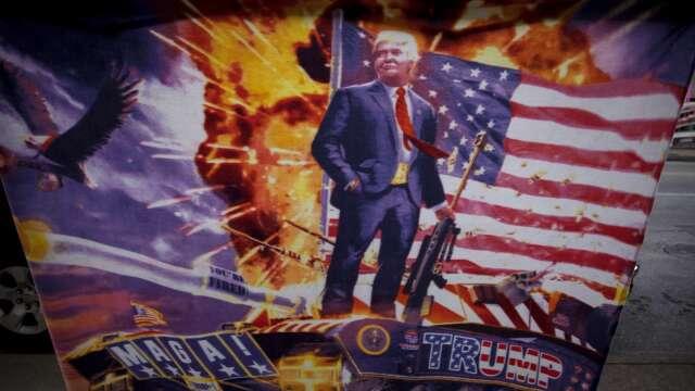 劍指中國!川普狙擊中概股 美國會提「新冠究責法案」。(圖片:AFP)