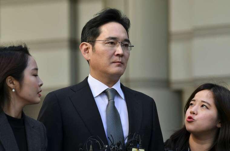 南韓三星集團少主李在鎔 (圖片:AFP)