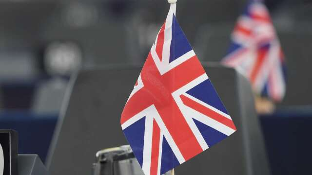 英國3月份GDP縮減5.8% 創下史上最大跌幅 (圖片:AFP)