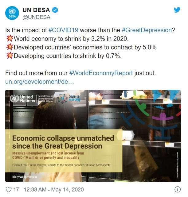 取自 UN DESA 推特帳號