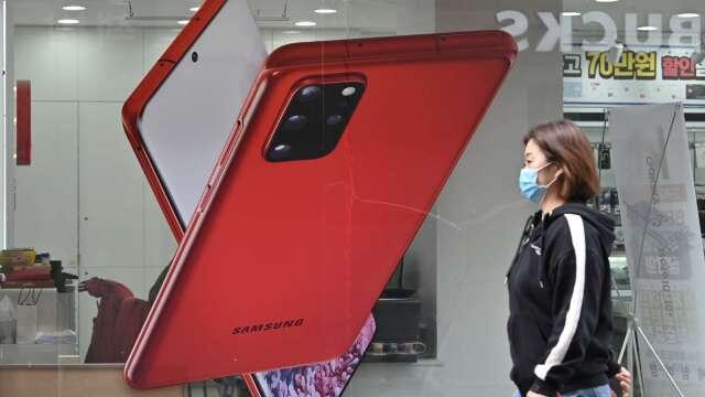 Strategy Analytics:三星Galaxy A51是今年Q1全球最暢銷安卓手機  (圖片:AFP)