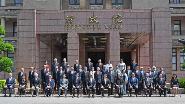 行政院內閣總辭 陳美伶、鄭麗君、陳良基3首長去職。(圖:行政院提供)