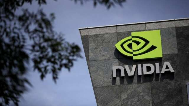 Nvidia最新繪圖晶片AI效能大增20倍 採台積電7奈米製程 (圖:AFP)
