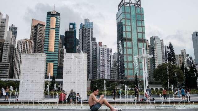 旅遊、消費零售受重創 香港Q1 GDP單季跌幅創歷史新高  (圖:AFP)