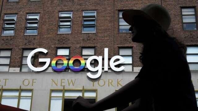 Google面臨美國司法部和多州反壟斷訴訟 聚焦網路廣告。(圖:AFP)
