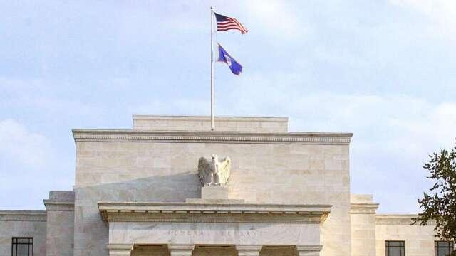 疫情若再加劇  Fed警告:資產價格將大跌 商用不動產最脆弱 。(圖:AFP)