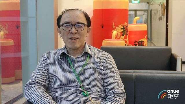 統振總經理何明哲。(鉅亨網記者張欽發攝)