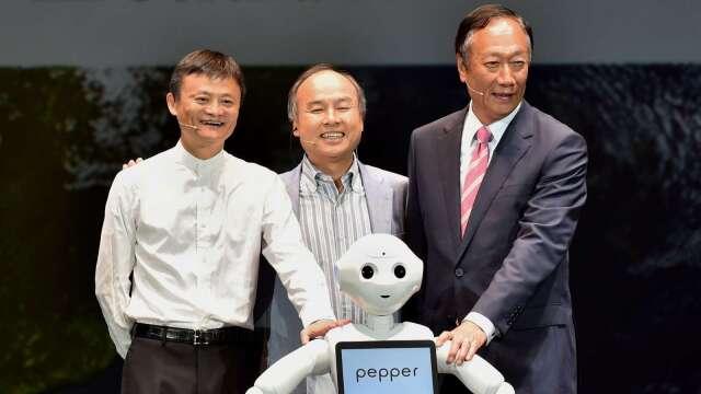 阿里巴巴創辦人馬雲 即將卸下軟銀集團董事一職 (圖片:AFP)