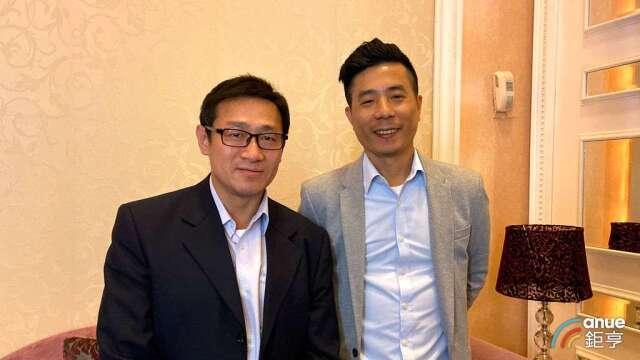 浩鑫總經理鄭瑋勳、副總經理石翔麟。(鉅亨網資料照)