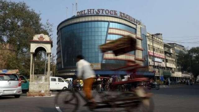 相較於3月時低迷氣氛,印度股市4月出現強勁反彈。(圖:AFP)