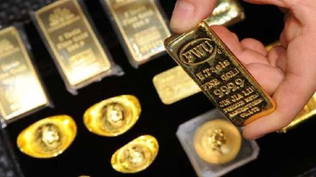 2009年金融海嘯後,各國央行增加黃金持有量。(圖:AFP)