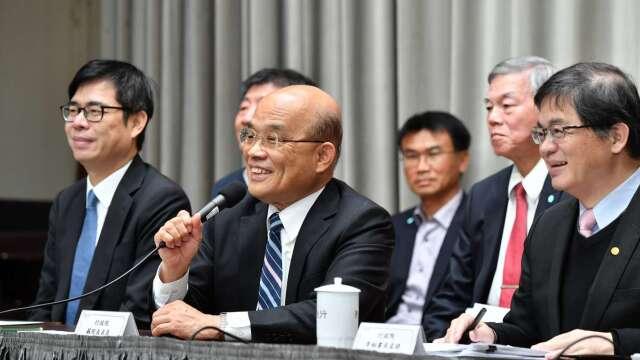 蘇內閣微幅改組 新行政團隊將就位 完整名單一次看。(圖:擷自行政院官網)